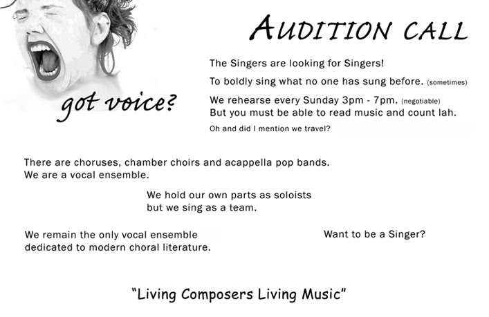 Contact Volunteer Donate - The Singers Vocal Ensemble